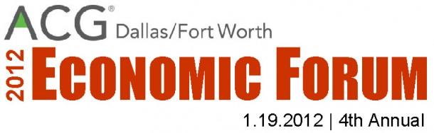 ACG 2012 economic forum LOGO