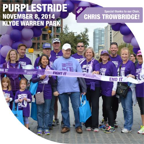 PurpleStride – Run/Walk to fight Pancreatic Cancer