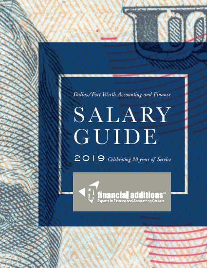 Financial Additions Salary guide 2019